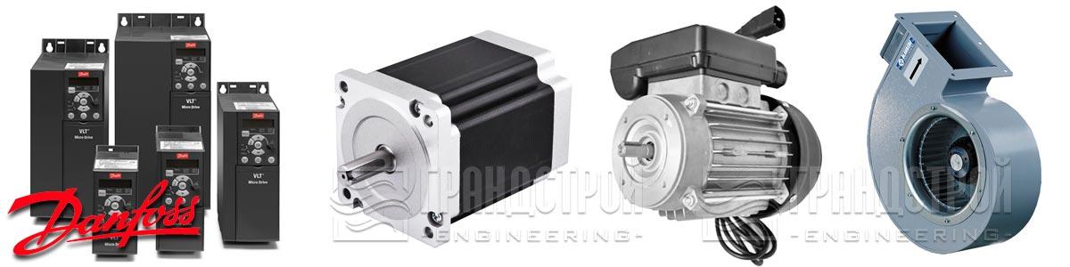 Применение частотных преобразователей Danfoss VLT Drive FC-051